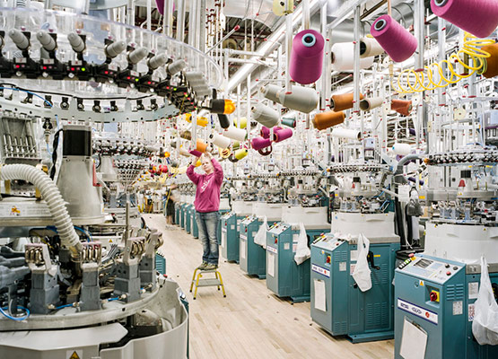 Company Textile in China
